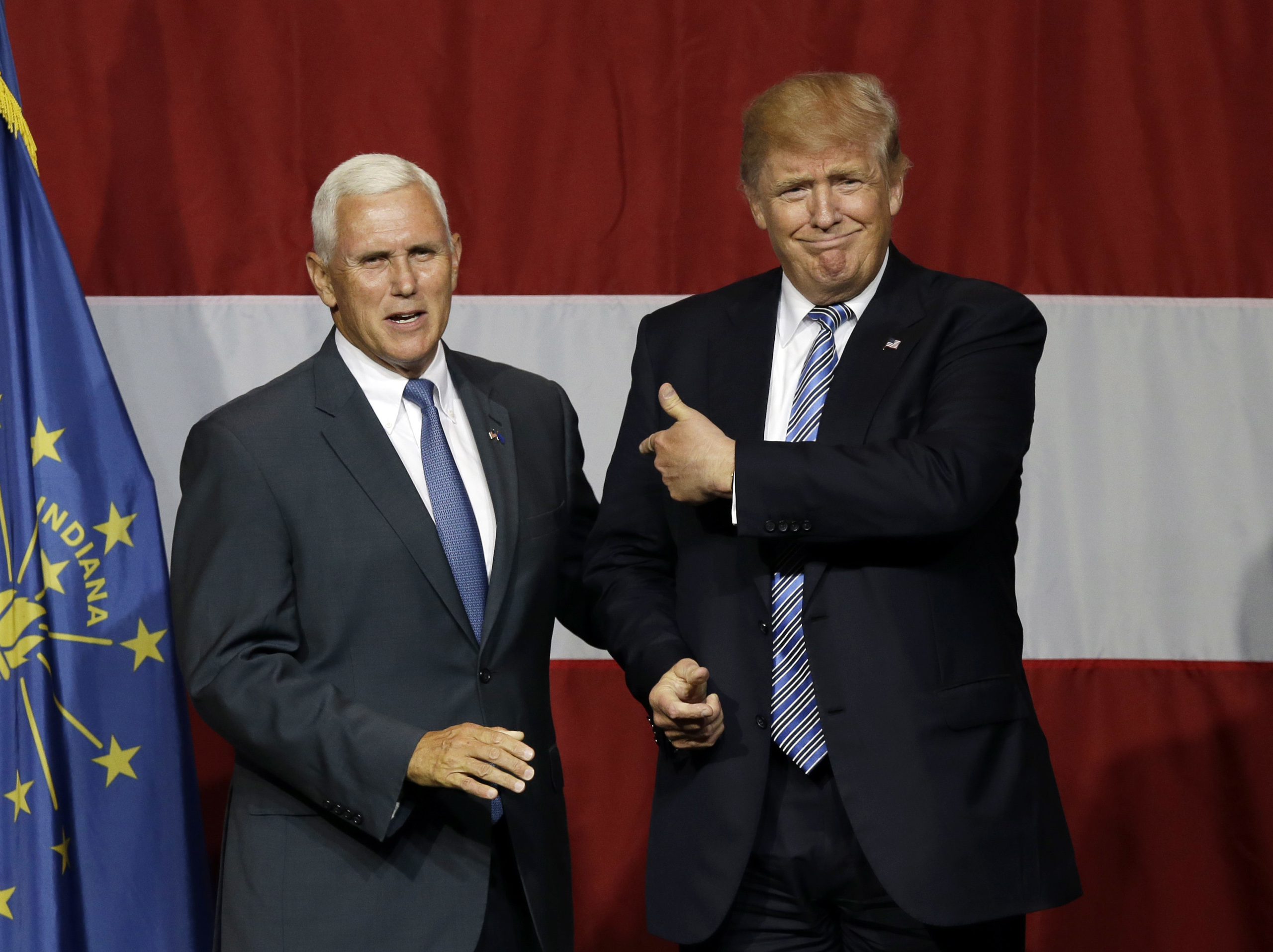 President Trump and Vice President Pence picture