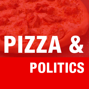 Pizza and Politics logo