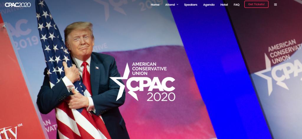 CPAC 2020 logo