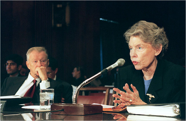Amb. Jeane Kirkpatrick, Reagan's Forceful Envoy