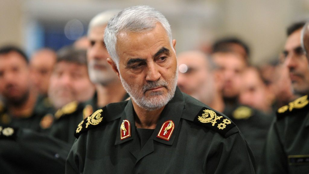 Iranian terrorist leader, Qasem Soleiman