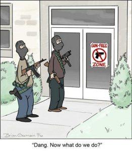 Logic of Gun Free Zones