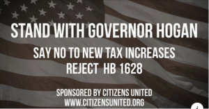 Oppose Bill 1628, Stand with Governor Hogan
