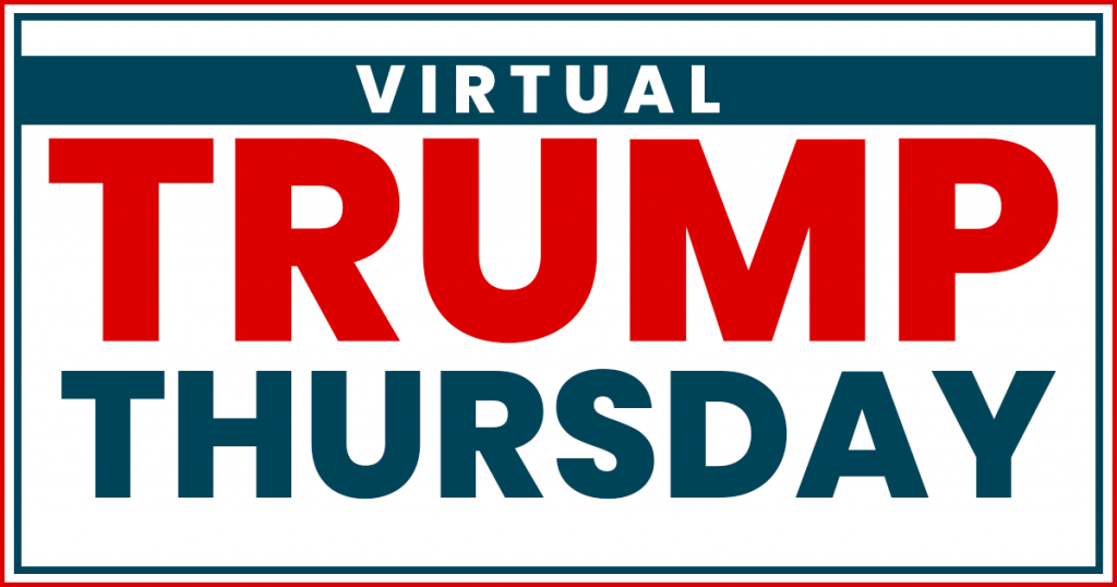 Virtual Trump Thursday