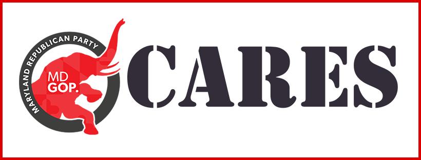 MDGOP Cares Logo