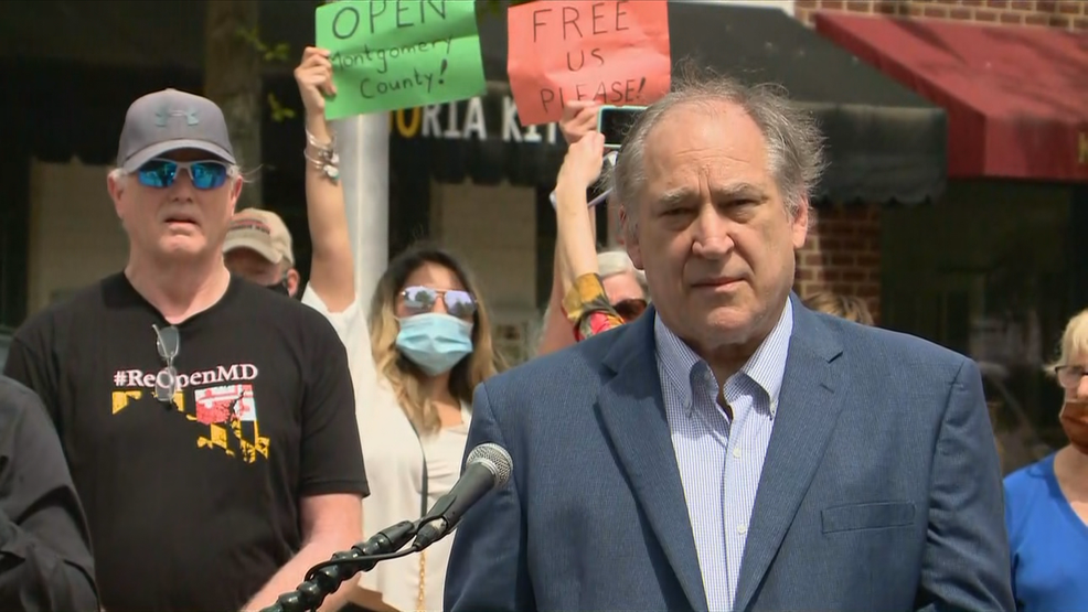 Montgomery Co. Exec. Marc Elrich booed as he announces loosening of COVID-19 restrictions