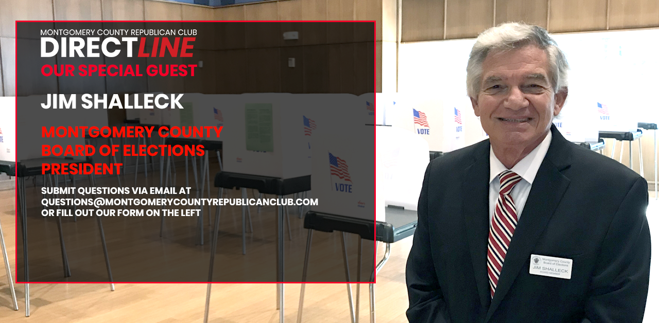 James Shalleck, President, Board of Elections - Montgomery County, Maryland