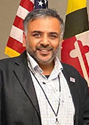 Dwight Patel, Board member Montgomery County Republican Club
