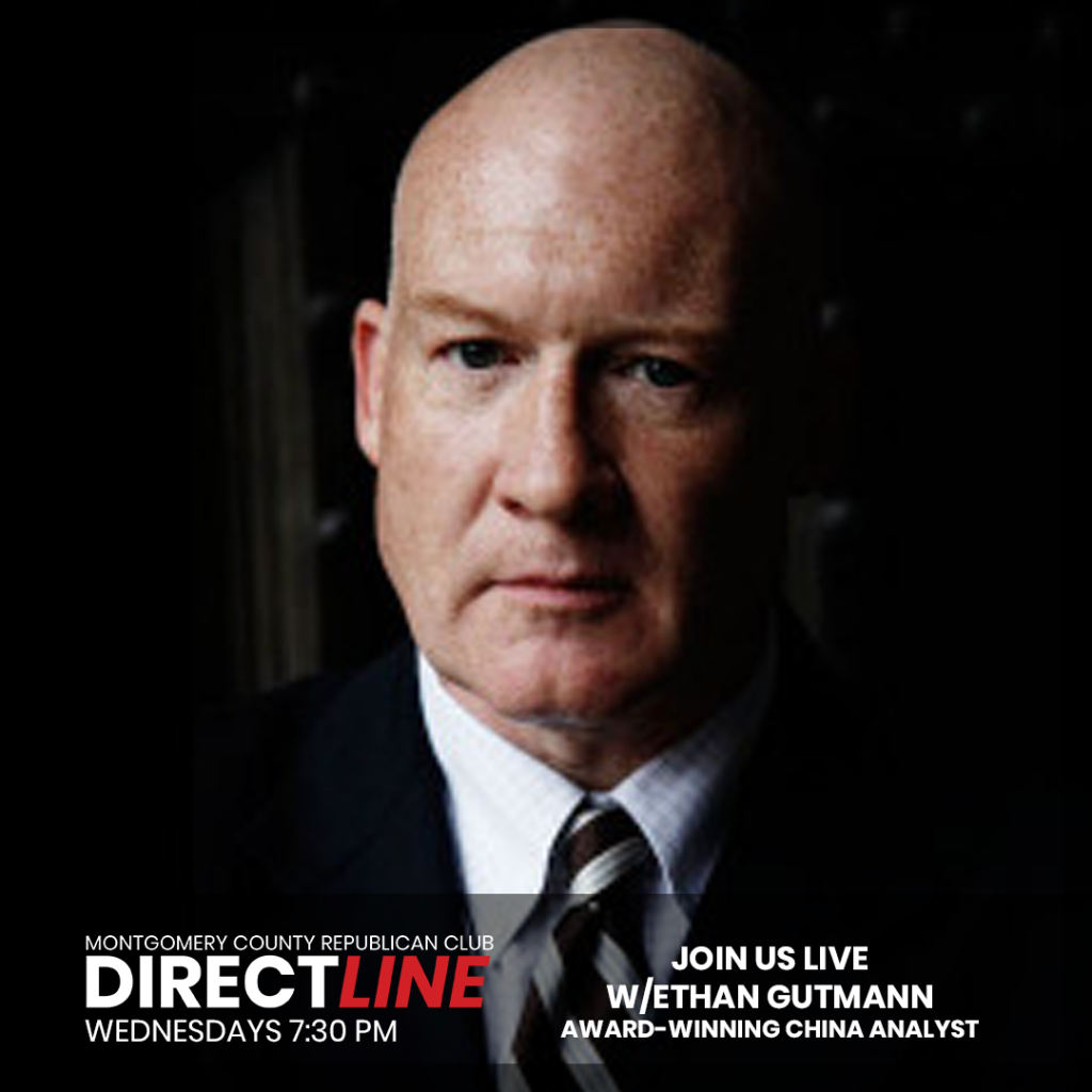 Ethan Gutmann, an award-winning China analyst and human-rights investigator