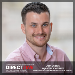 Patrick O'Keefe, Director of Customer Success for Anedot.