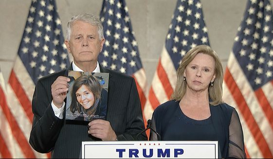 Carl and Marsha Mueller's speech at the Republican National Convention
