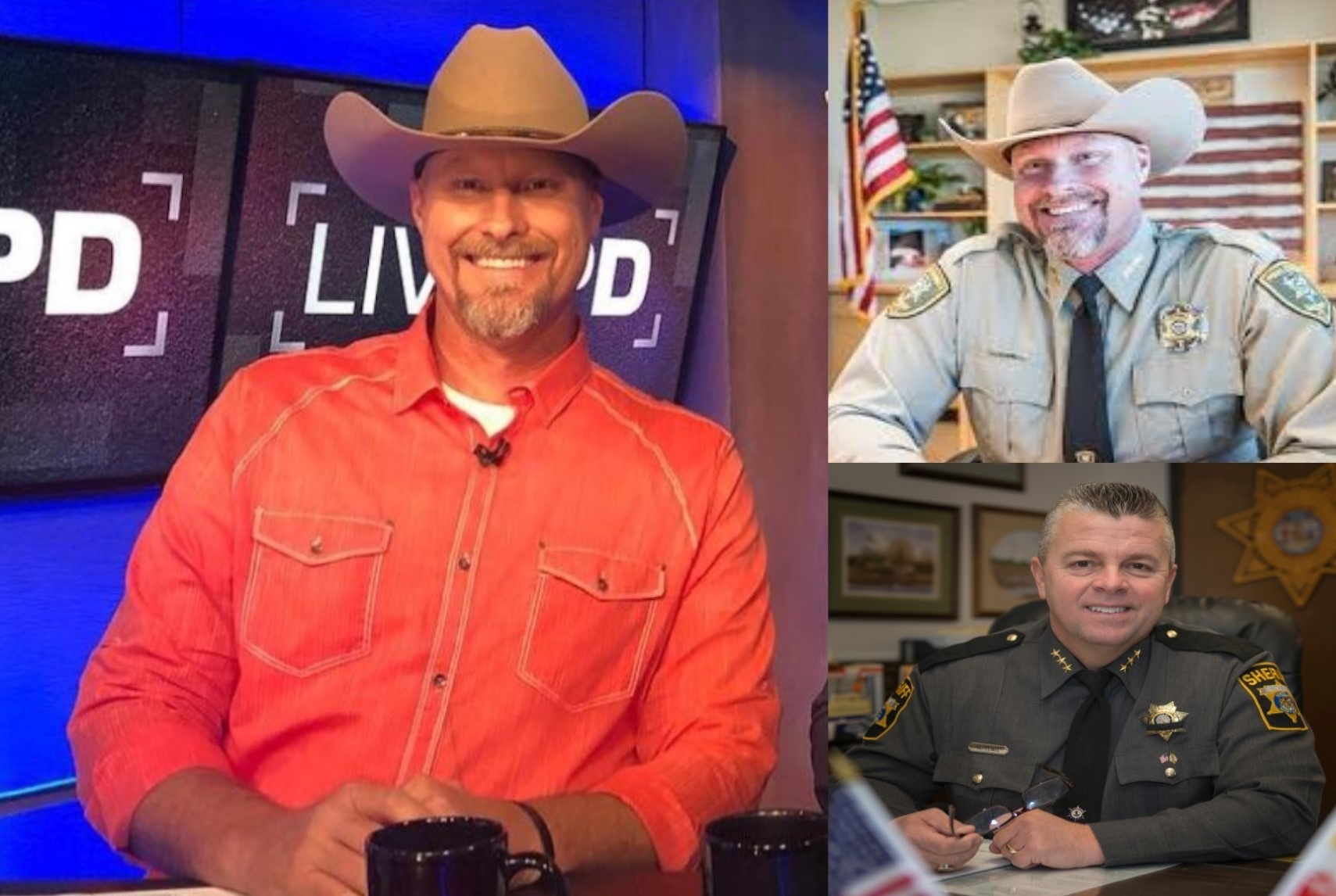 Sheriff Lamb and Sheriff Lewis