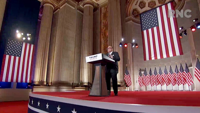 Rudy Giuliani's speech at the Republican National Convention