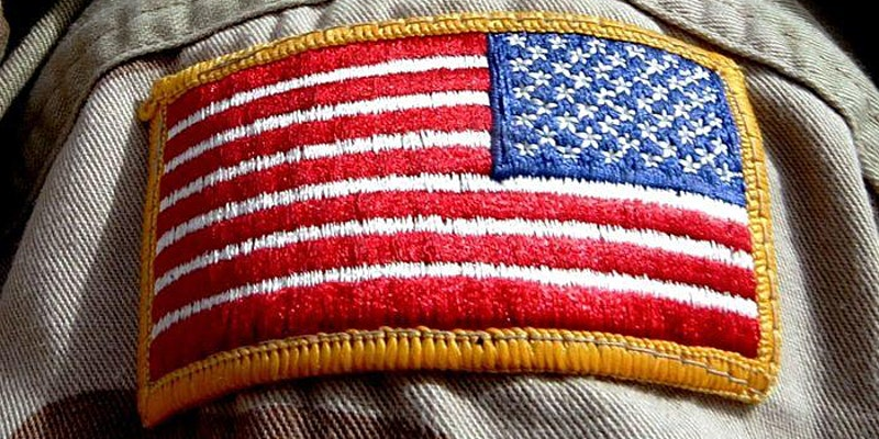 Patch of American Flag