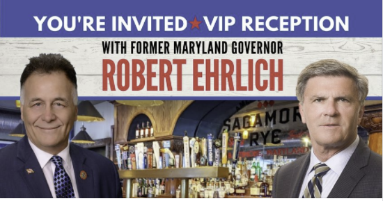 Meet and Greet with Johnny Ray Salling and Former Governor Robert Ehrlich