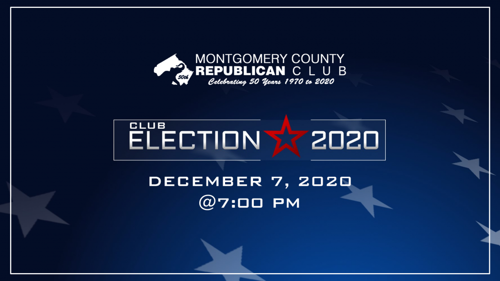MCGOP Club Elections 2020