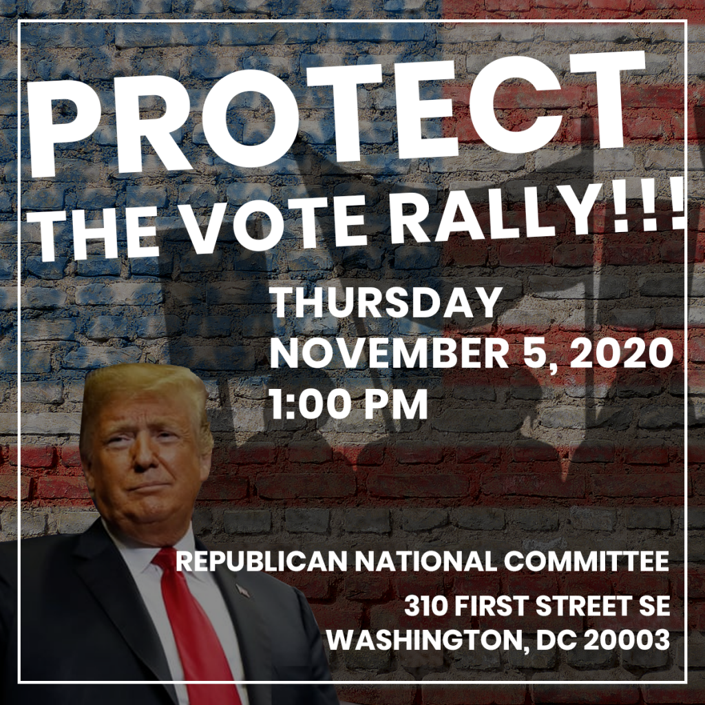 Protect the Vote Rally