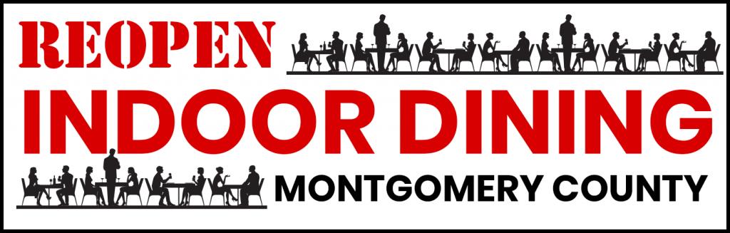 Reopen Indoor Dining in Montgomery County