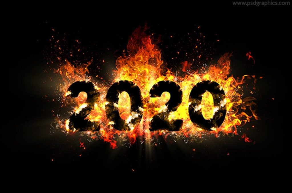 2020 in flames