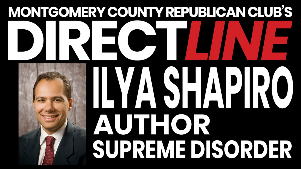 Ilya Shapiro, Author, Supreme Disorder