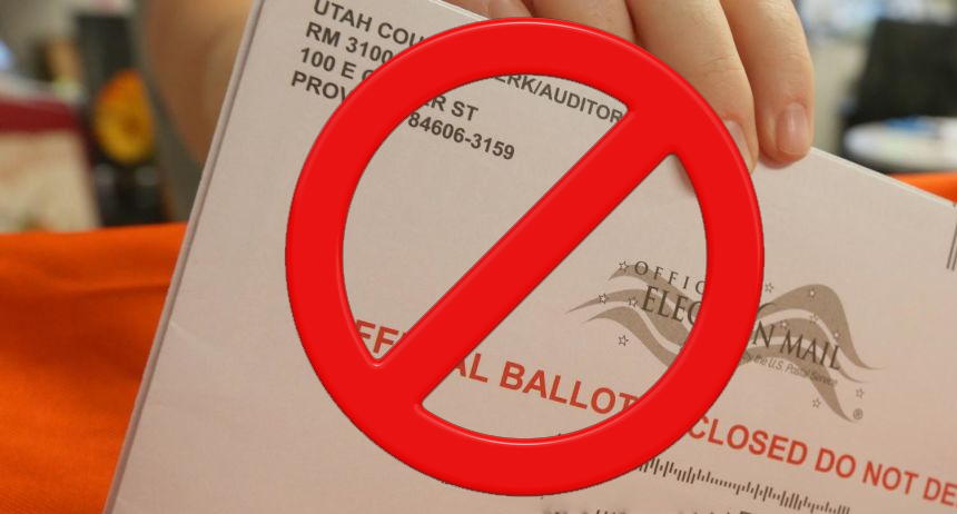 Stop Mail In Voting