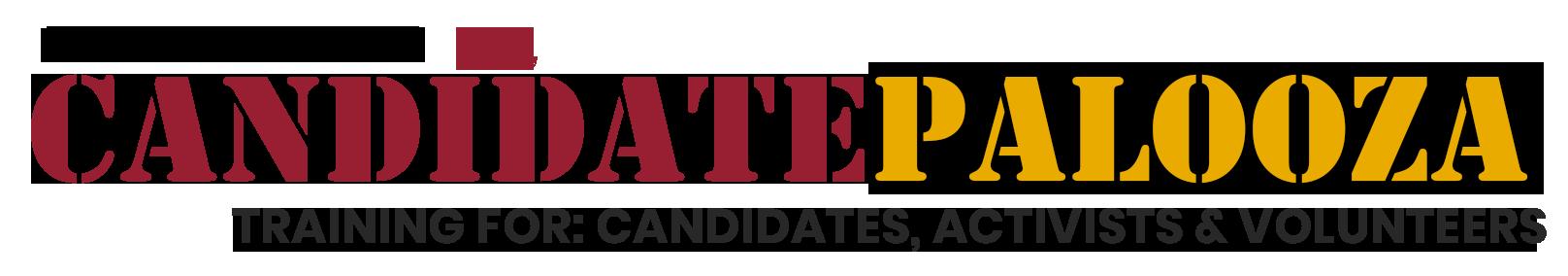 logo for CANDIDATEPALOOZA 2021