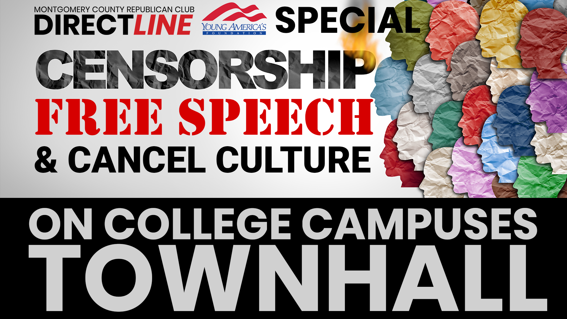 Direct Line Special Free Speech and Cancel Culture townhall