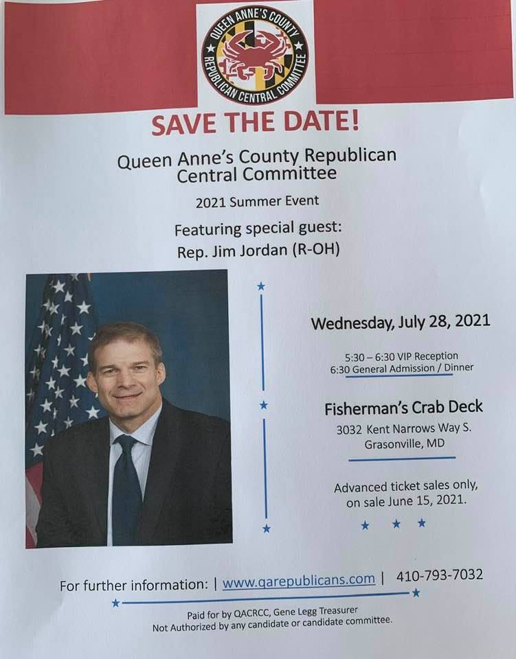 Queen Anne's County GOP Lincoln Day Dinner