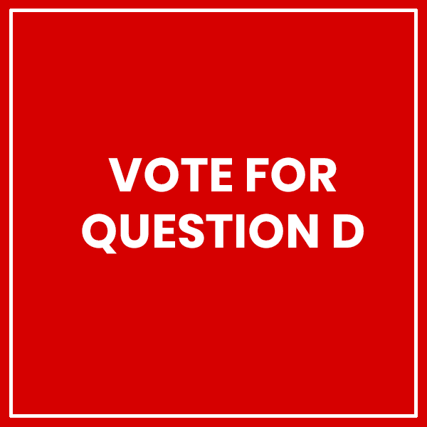 Vote For Question D